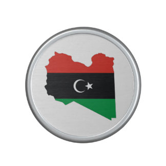 libya country flag map bluetooth speaker