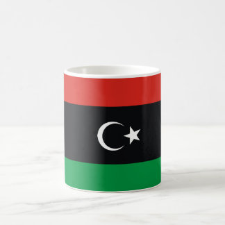 Libya country long flag nation symbol republic coffee mug