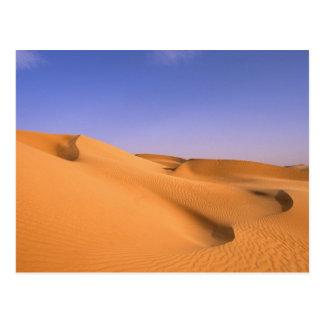 Libya, Fezzan, Sahara desert, Erg Murzuq, Sand Postcard