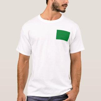 Libya Flag and Map T-Shirt