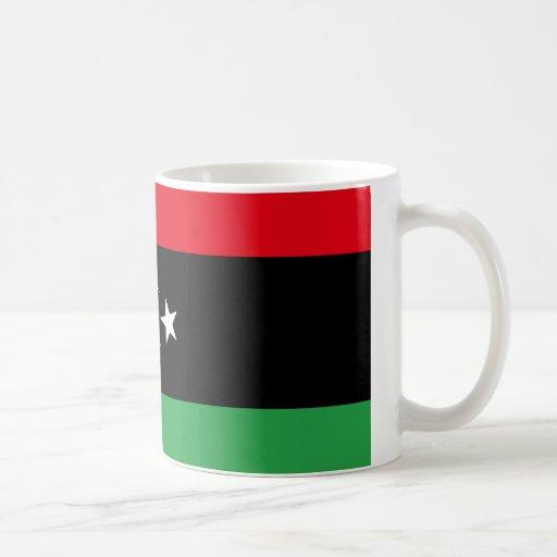Libya Flag Coffee Mugs