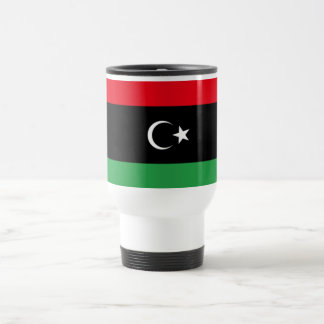 Libya Flag Stainless Steel Travel Mug
