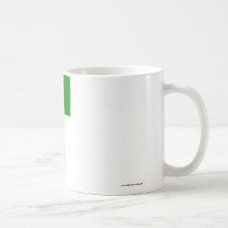Libya Flag with Name Basic White Mug