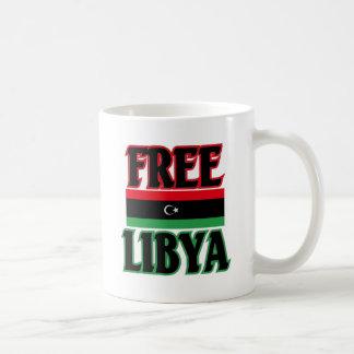 Libya - Free Libya  ليبيا الحرة Basic White Mug