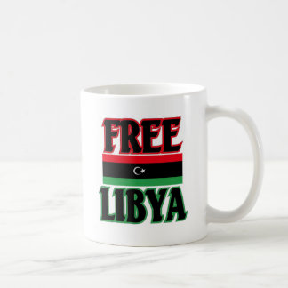 Libya - Free Libya  ليبيا الحرة Mug