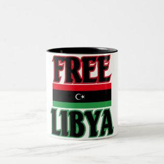 Libya - Free Libya  ليبيا الحرة Coffee Mug
