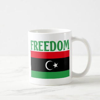 Libya Freedom Flag Basic White Mug