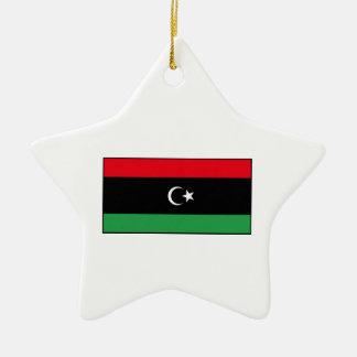 Libya – Libyan Flag Christmas Ornaments