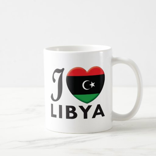 Libya Love Coffee Mug