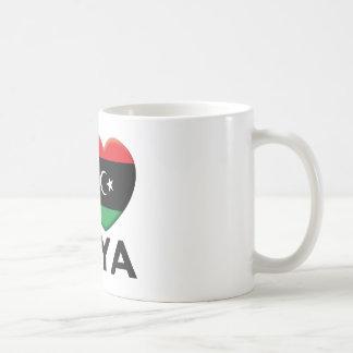 Libya Love Coffee Mugs