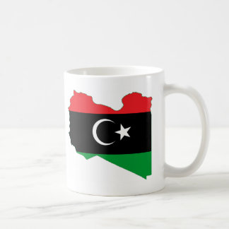 Libya LY Basic White Mug