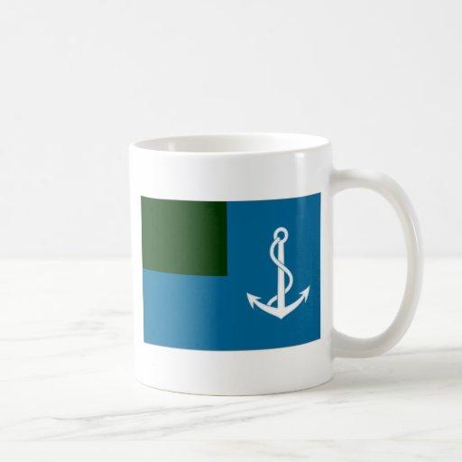 Libya Naval Ensign Coffee Mugs