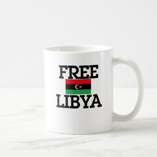 Libya Revolution Basic White Mug