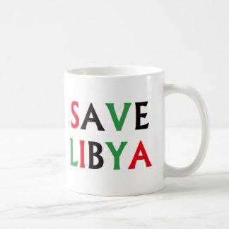 Libya - Save Libya Basic White Mug