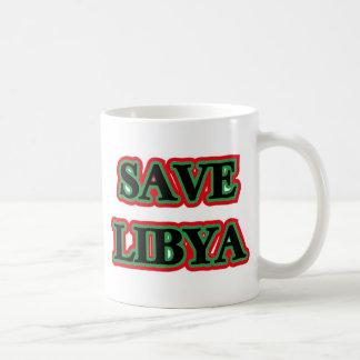 Libya - Save Libya Mugs