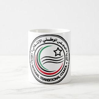 libya transitional council seal basic white mug