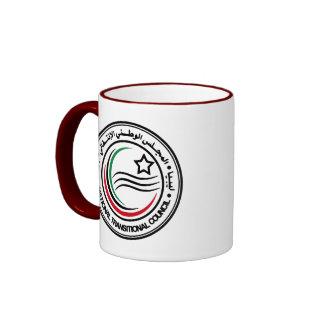 libya transitional council seal ringer mug