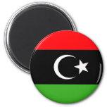 Libyan Rebel Flag Refrigerator Magnet