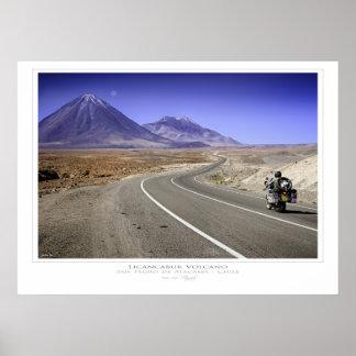 Licancabur Volcano Print