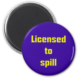 Licenced ton spill magnet