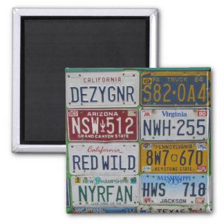 License Plate Lovers Magnet