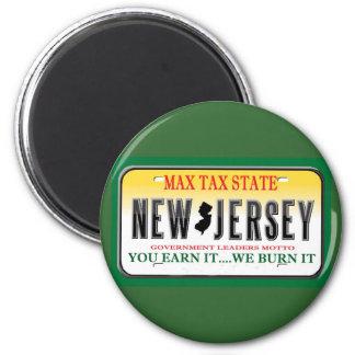 License Plates 6 Cm Round Magnet