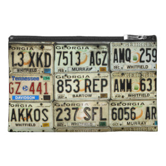 License Plates Travel Accessories Bags