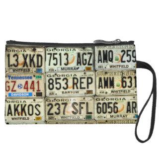 License Plates Wristlet