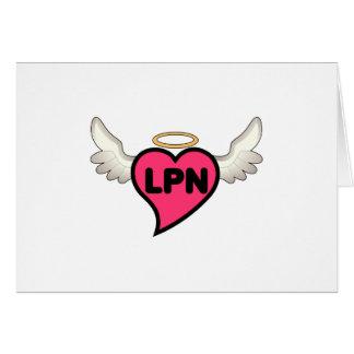 License Practical Nurse Greeting Card