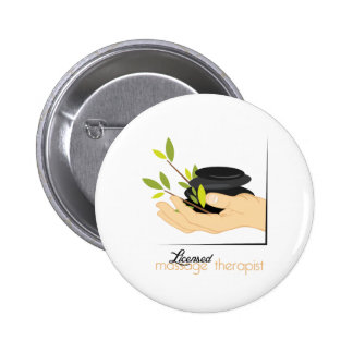 Licensed Massage Therapist 6 Cm Round Badge