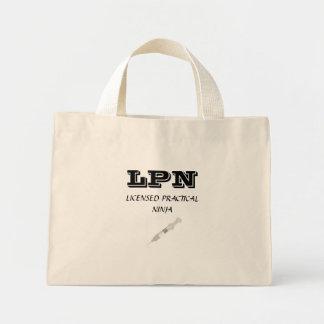 LICENSED PRACTICAL NINJA BAGS