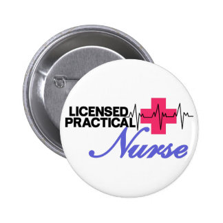 Licensed Practical Nurse 6 Cm Round Badge