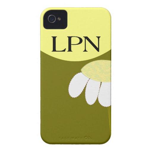 Licensed Practical Nurse Daisy Case-Mate iPhone 4 Cases