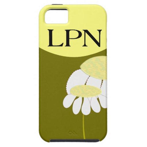 Licensed Practical Nurse Daisy iPhone 5 Case