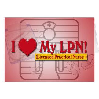 Licensed Practical Nurse Greeting Card