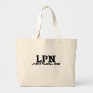 Licensed Practical Nurse Jumbo Tote Bag