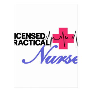 Licensed Practical Nurse Postcard