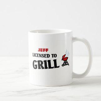 Licensed to Grill Basic White Mug