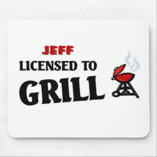 Licensed to Grill Mouse Pads
