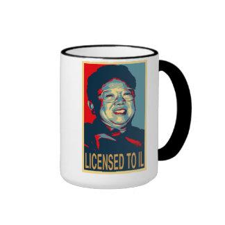 Licensed to Il Parody Mug