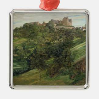 Lichtenberg Castle in Odenwald, 1900 Christmas Ornament