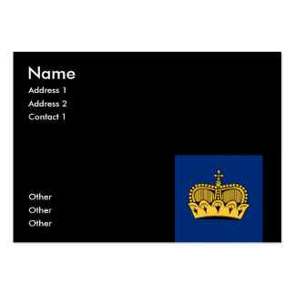Lichtenstein Large Business Cards (Pack Of 100)
