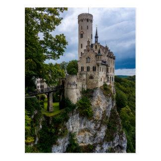 Lichtenstein Castle - Baden-wurttemberg - Germany Postcard