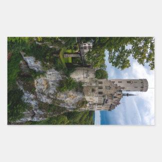 Lichtenstein Castle - Baden-wurttemberg - Germany Rectangular Sticker