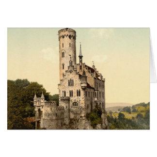 Lichtenstein Castle Postcard Greeting Card