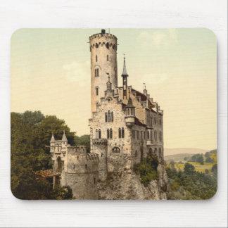 Lichtenstein Castle Postcard Mouse Pad