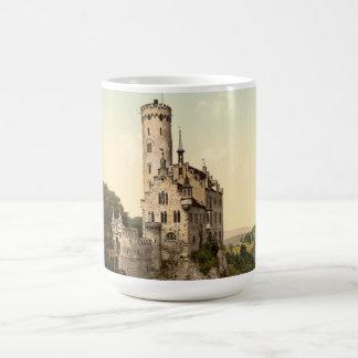 Lichtenstein Castle Postcard Basic White Mug