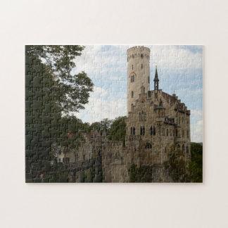 Lichtenstein Castle Puzzle