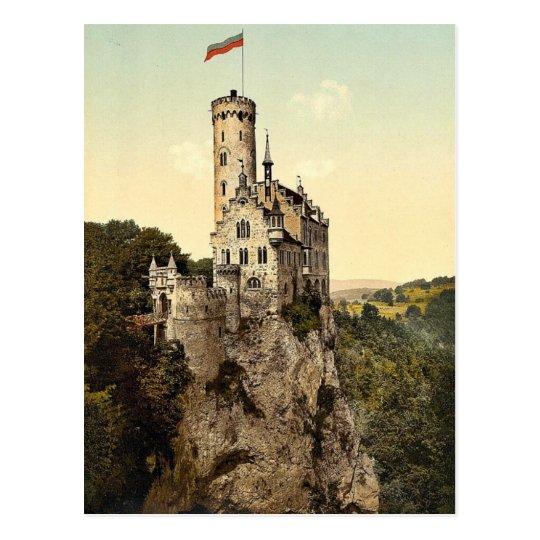 Lichtenstein Castle, Wurtemburg, Germany magnifice Postcard