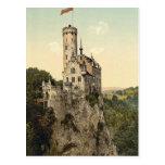 Lichtenstein Castle Wurtemburg, Germany Post Card